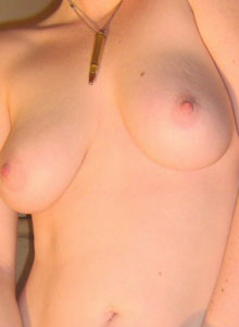 Slutty Teen Pulls Out Her Big Tits From Her Dress For All To See - Picture 11